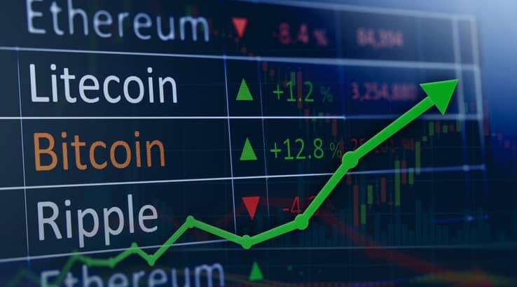 rising in blockchain